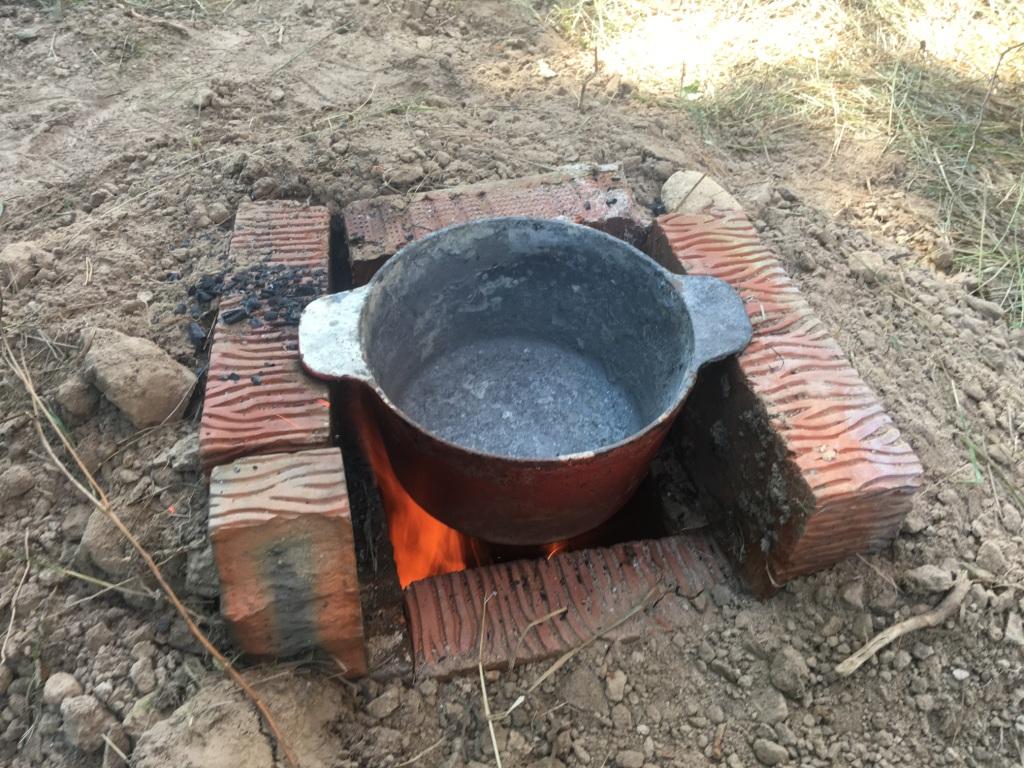 Печь для плавления алюминия. Aluminum melting furnace