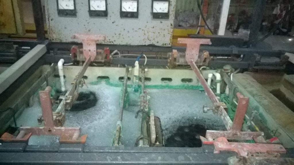 Электрохимическое никелирование. Electrochemical nickel plating