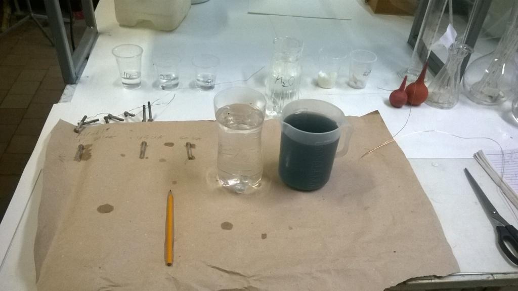 Голубая пассивация цинковых покрытий. Blue zinc coating passivation