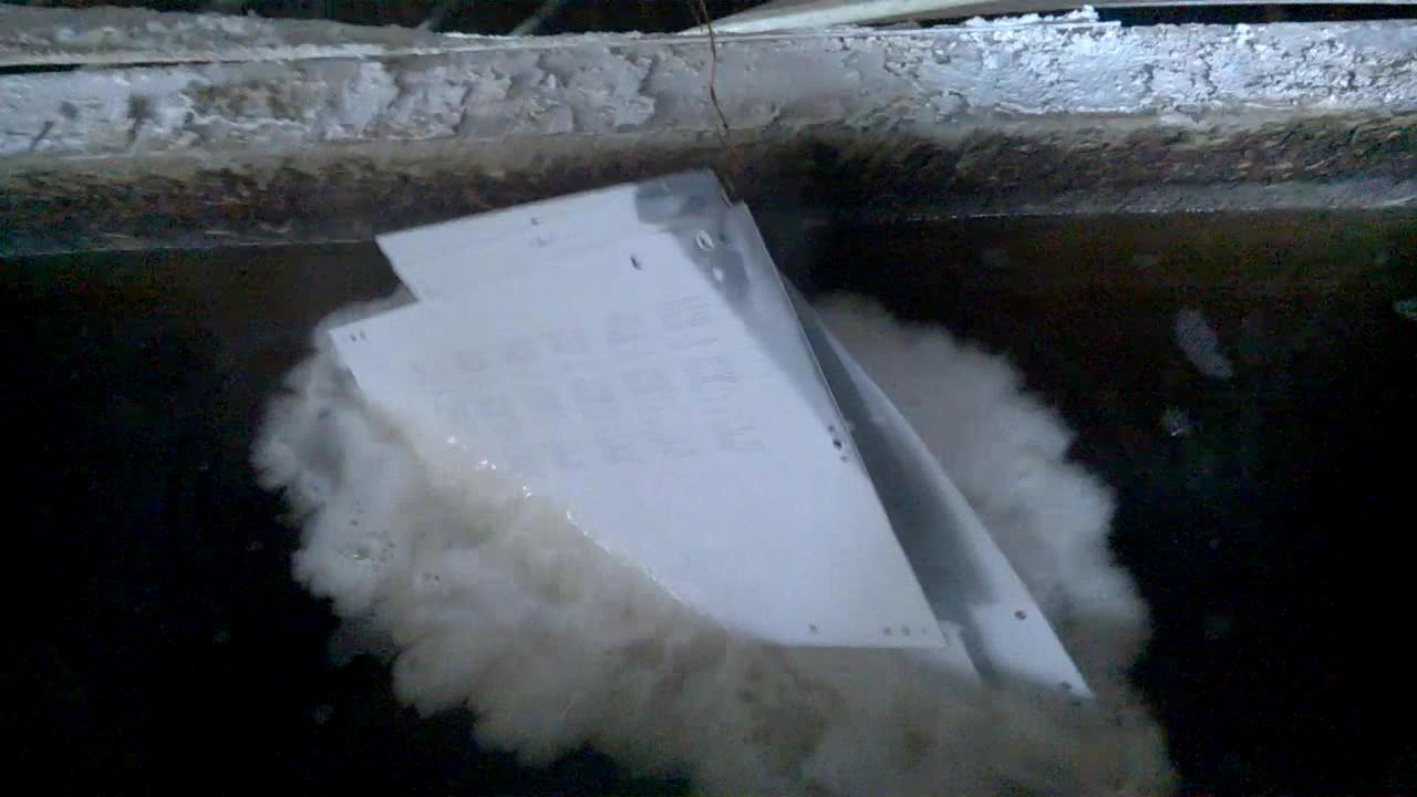 Ванна щелочного травления алюминия. Alkaline etching bath for aluminum