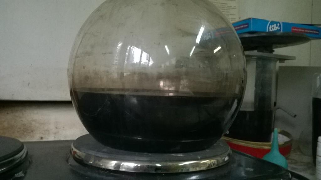 Растворение хлорида палладия. Dissolution of palladium chloride