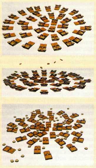 Модель атомной бомбы. Model of atomic bomb