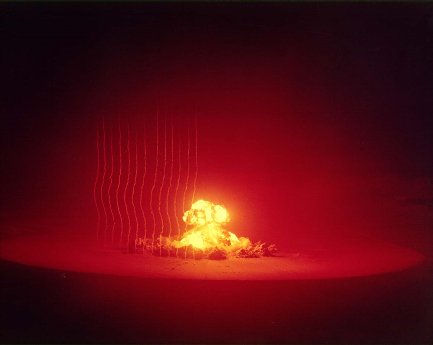 Ядерный взрыв. Nuclear explosion