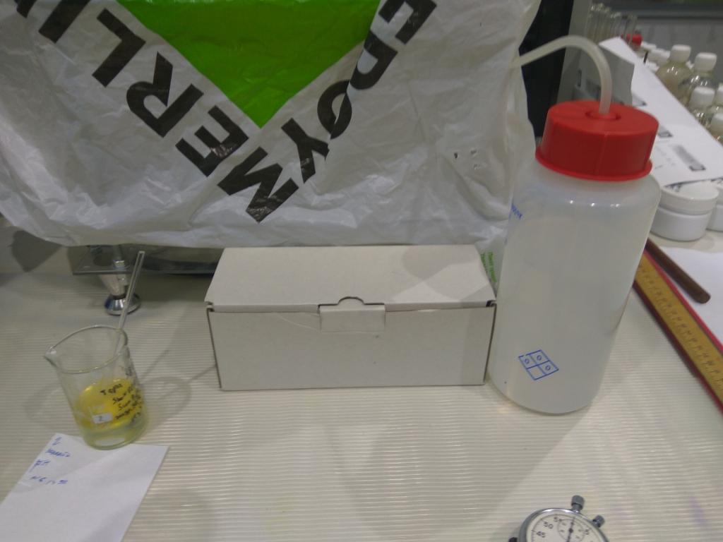 Титрование соды. Titration of soda