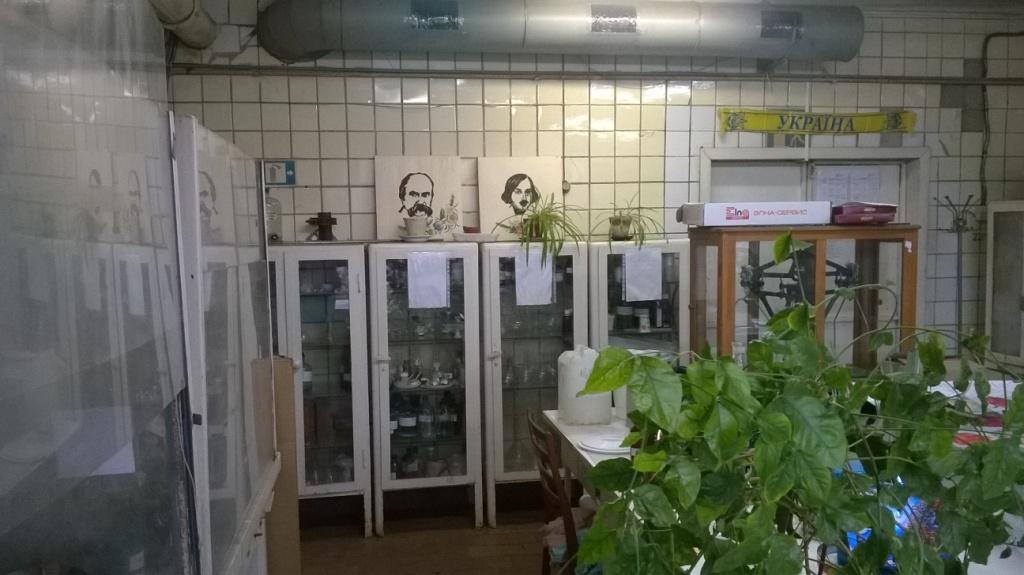 Заводская лаборатория (фото). Chemical laboratory (at factory) - photos