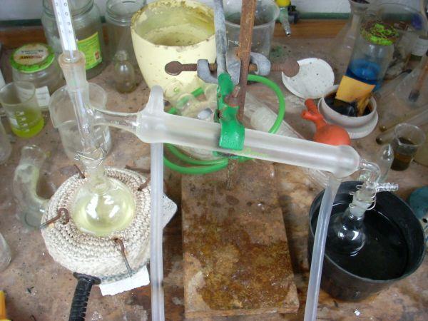 Получение сероуглерода