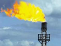 Горение природного газа