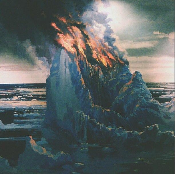 Горящий айсберг