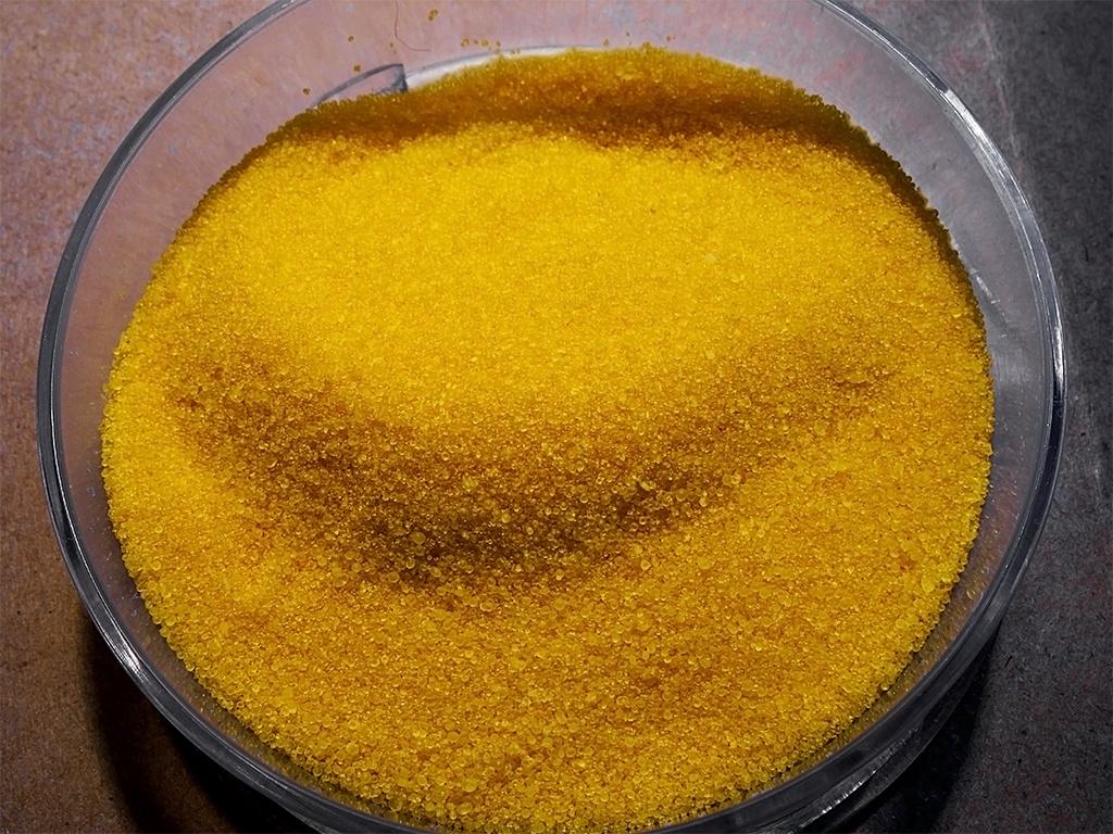 Соль, подкрашенная флуоресцеином