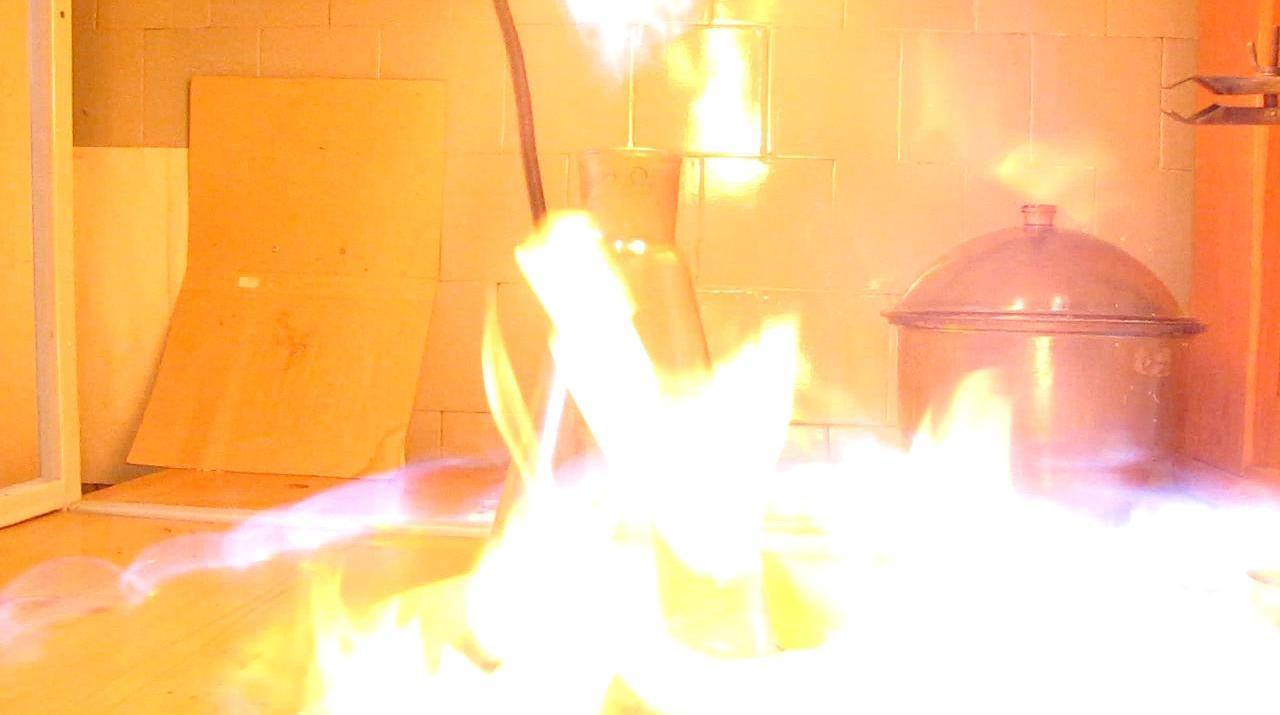 Зажжем пропан-бутановую смесь