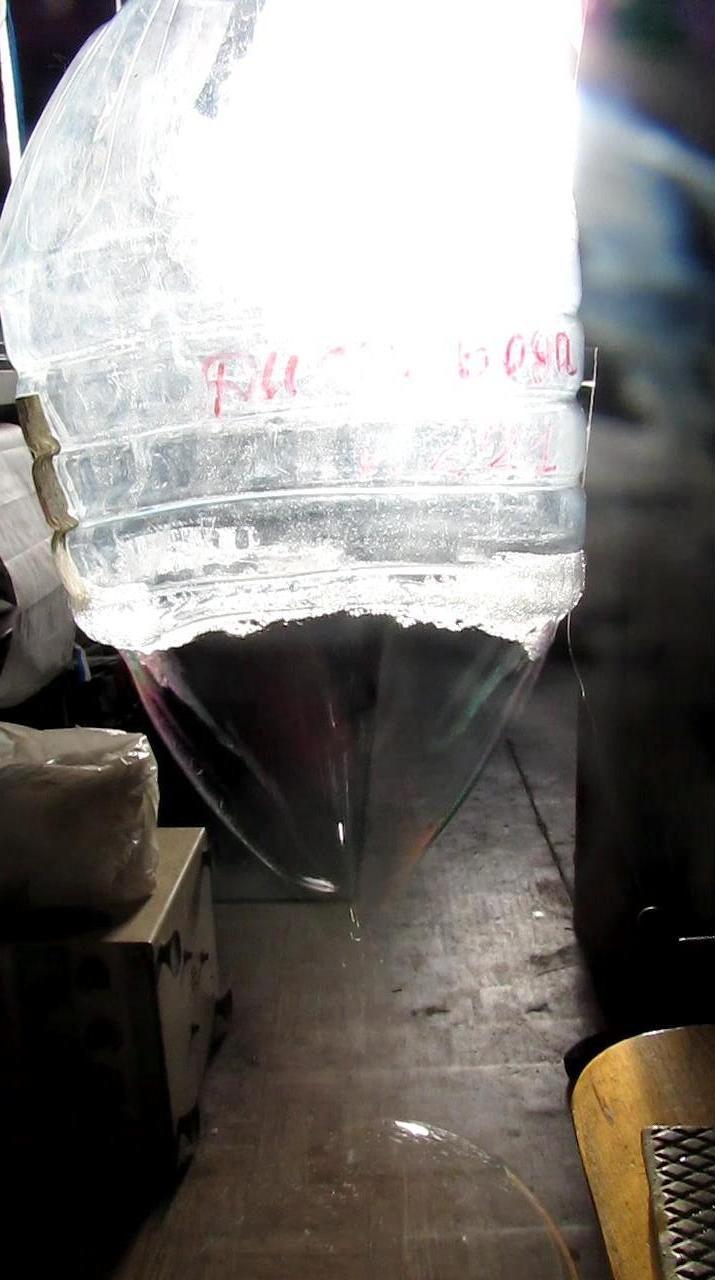 Пропан-бутановая смесь и мыльная пленка