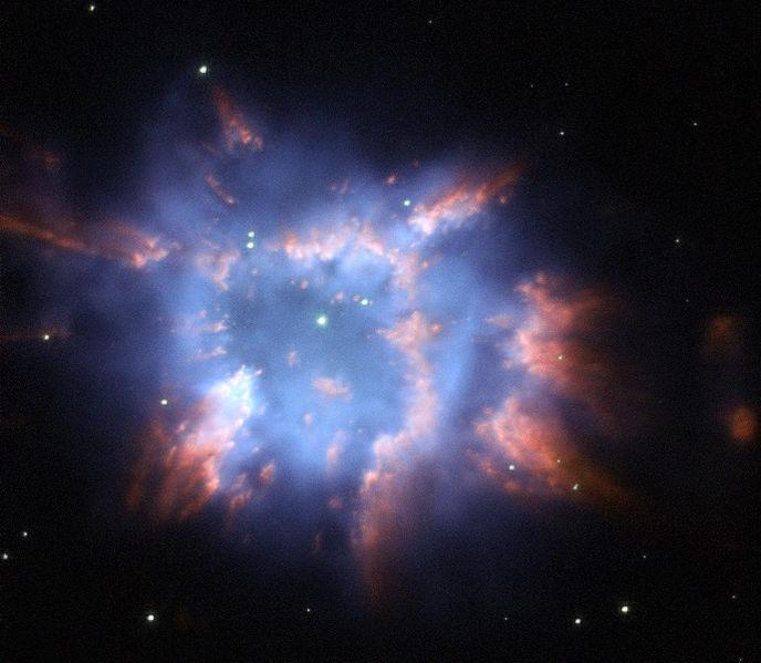 Туманность NGC 6326