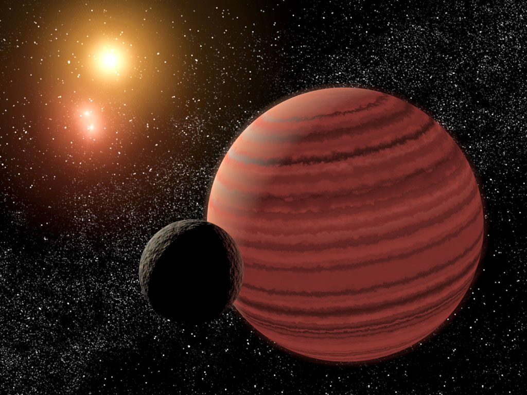 Тройная звезда, коричневый карлик и его спутник