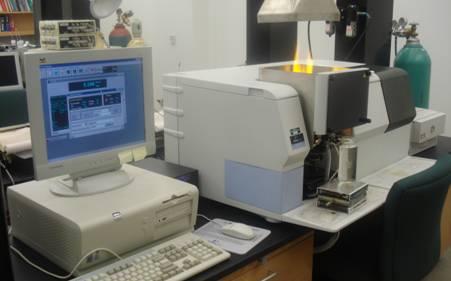 Атомно-абсорбционный спектрометр (пламенный)
