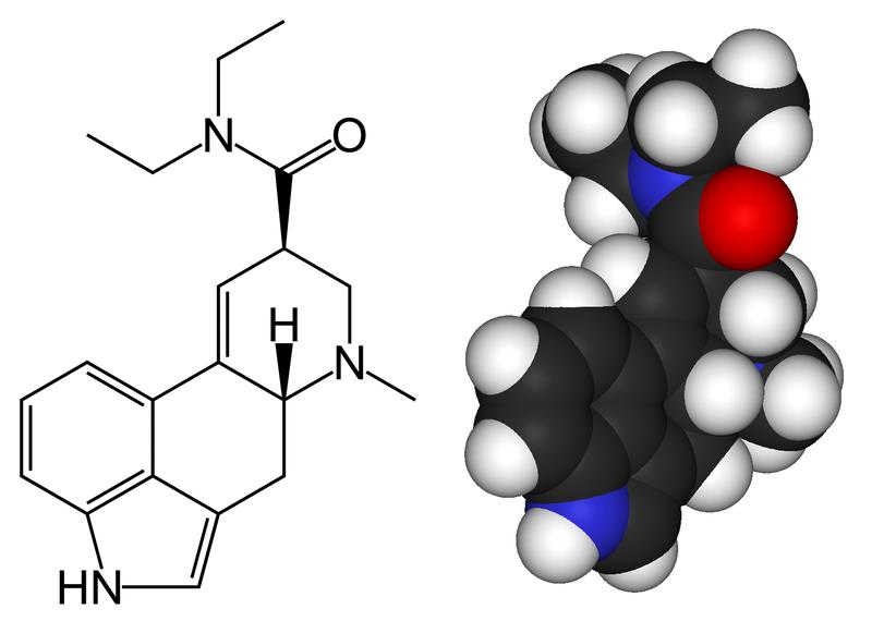 ЛСД (ЛСД-25, LSD) - диэтиламид d-лизергиновой кислоты