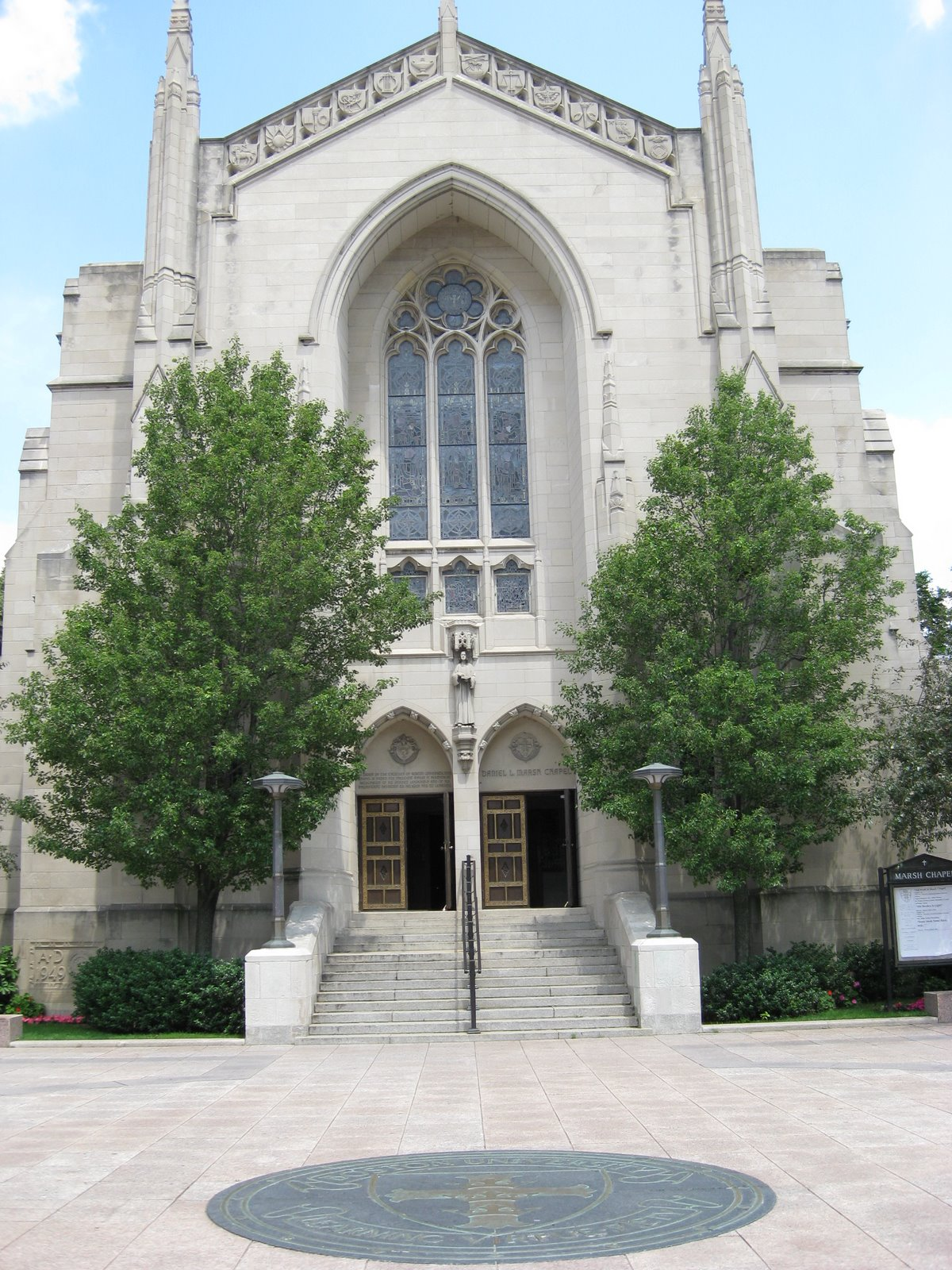 Болотная часовня Бостонского университета (Marsh Chapel)