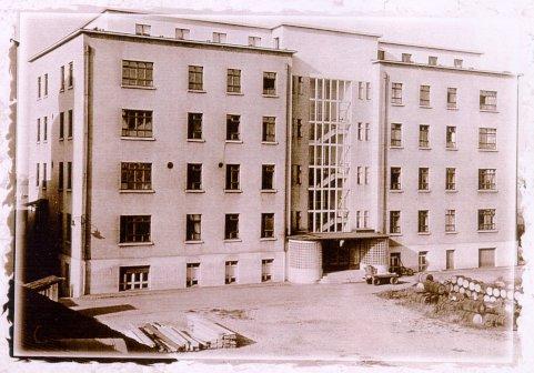 Старое здание лаборатории Сандоз (Sandoz Laboratories), где работал Альберт Хоффман, в настоящее время не сохранилось