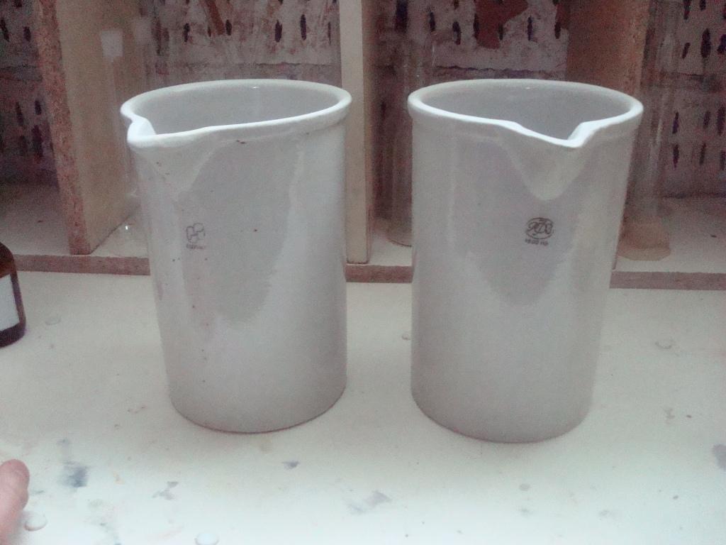 Фарфоровые стаканы емкостью 1.5 литра