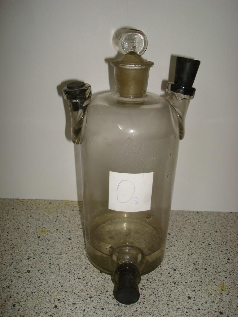 Склянка Вульфа (промывная, осушительная и предохранительная склянка)