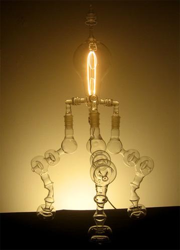 Необычные лампы накаливания (Дилан Кеде Ролофс)