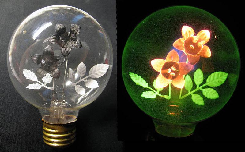 Декоративная неоновая лампа