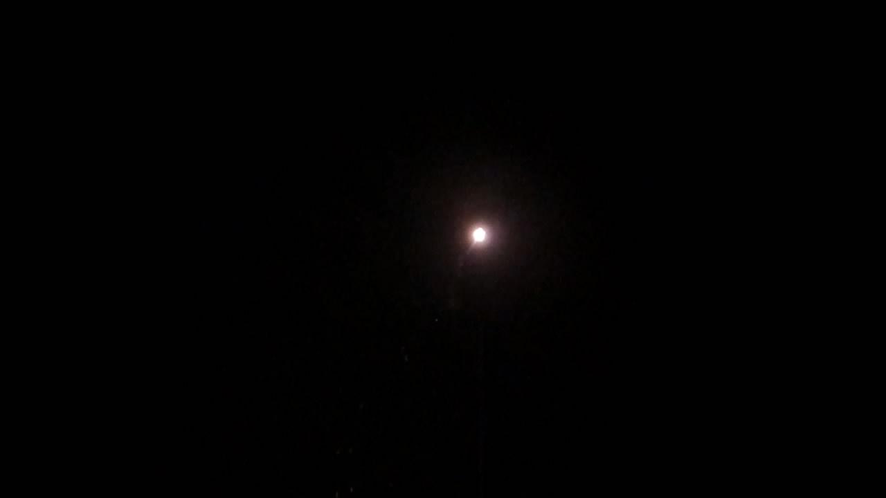 Запуск 75-мм сферического снаряда