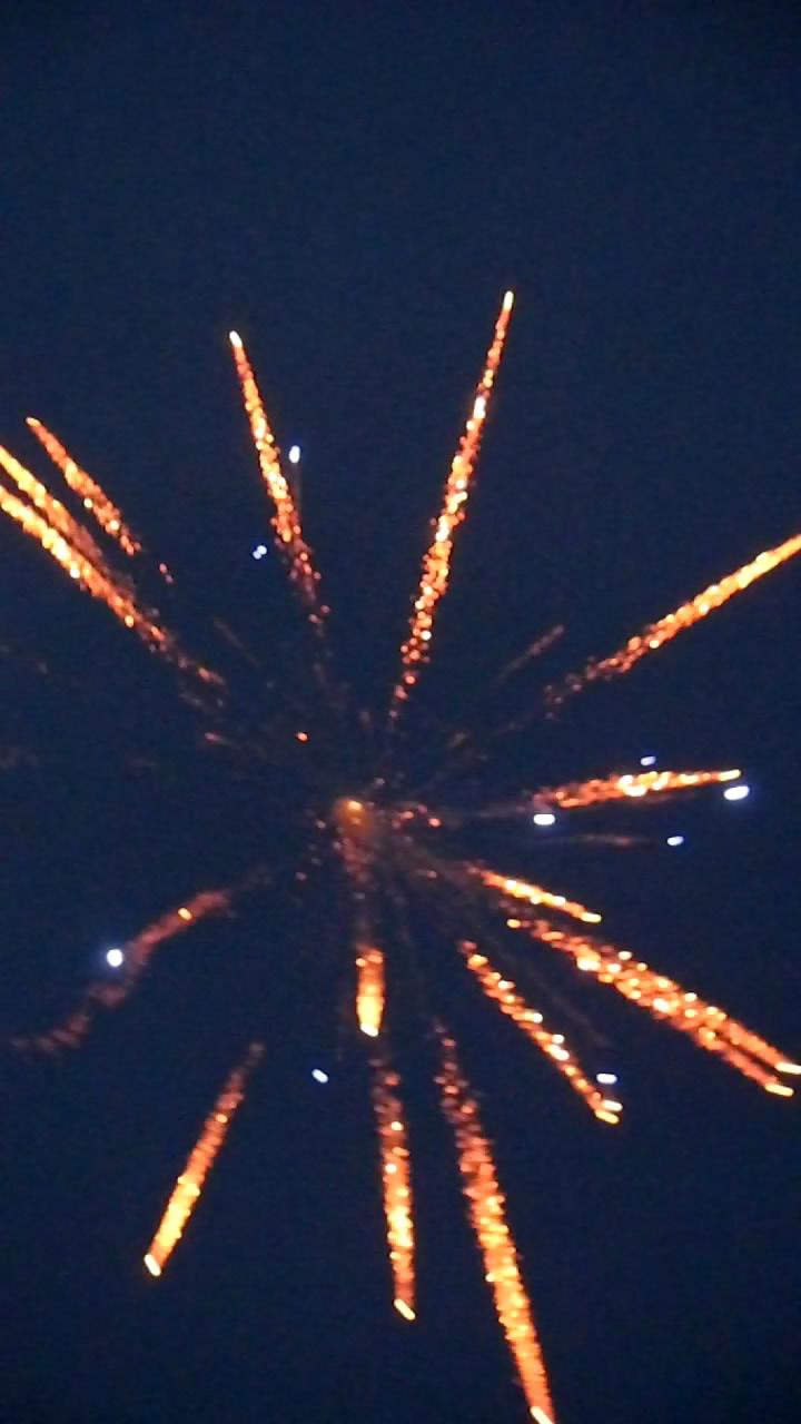 Запуск сферического снаряда