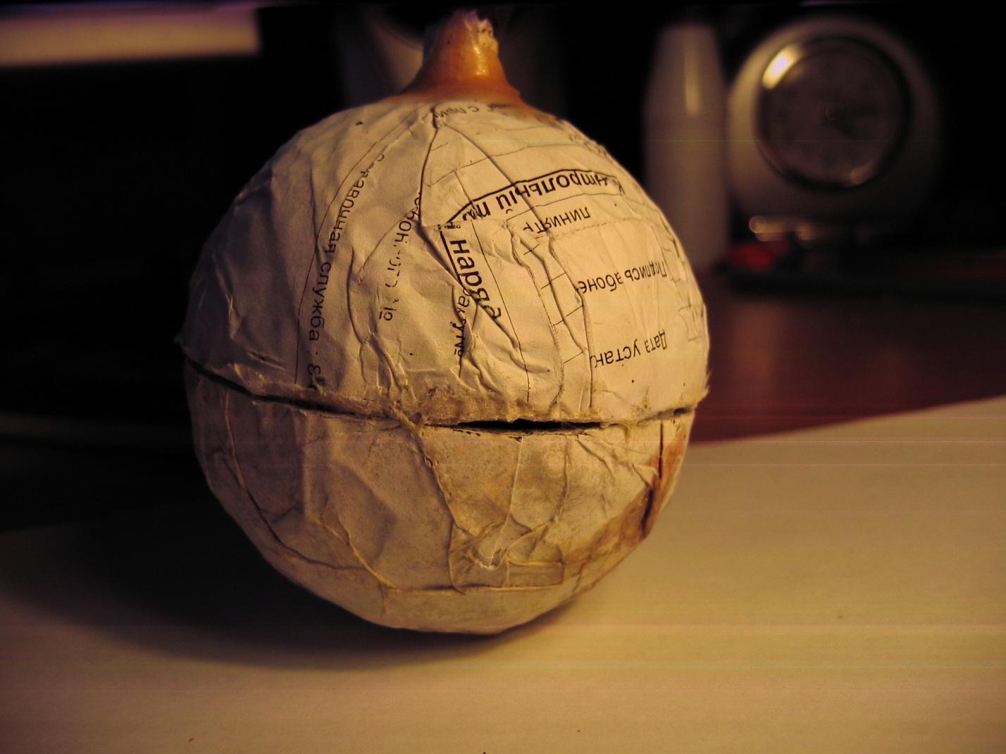 Сборка сферы. Изготовление 75-мм сферического снаряда