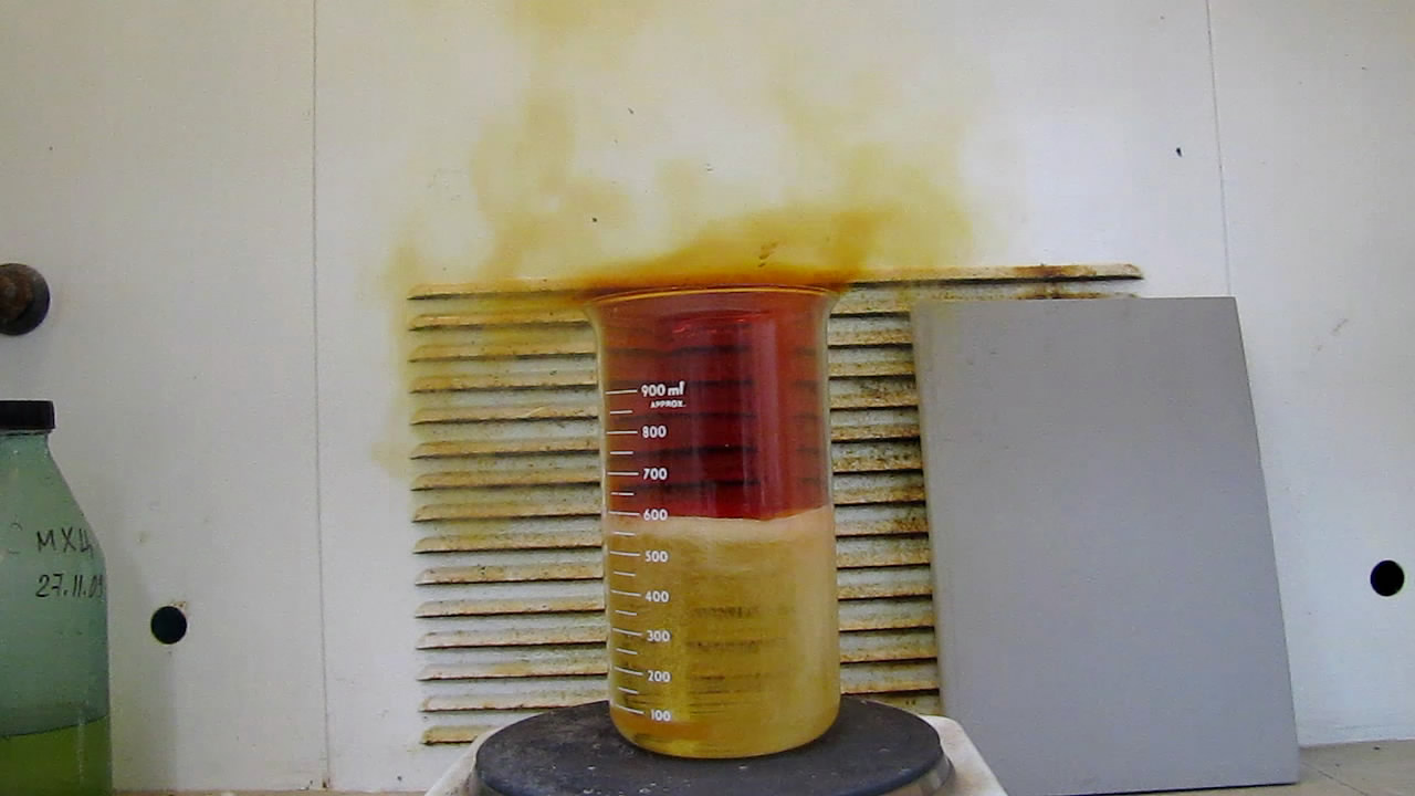Регенерация серной кислоты из нитрующей смеси (после синтеза нитроглицерина)