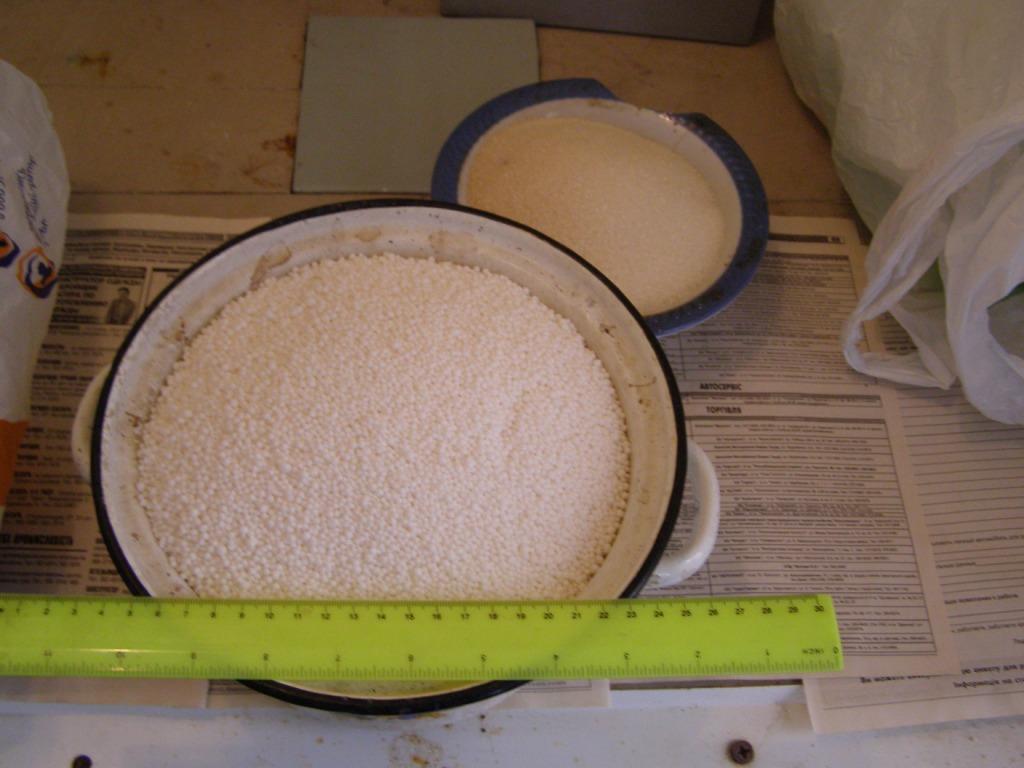 Аммиачная селитра и сахар