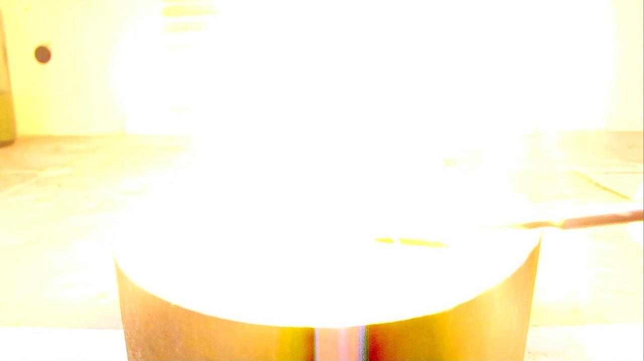 Смесь иодата калия и красного фосфора