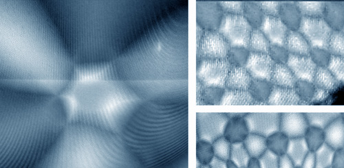 Магнит, электроны и муаровые узоры