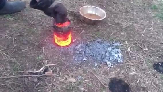 Плавление и гранулирование алюминия