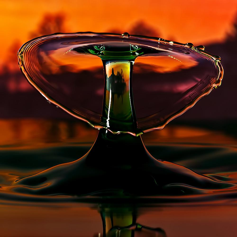 Капли воды (высокоскоростная камера)