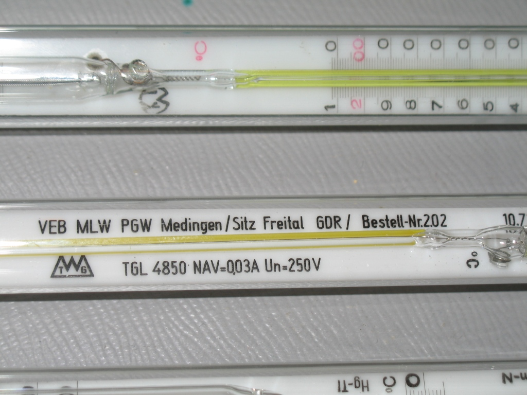 Электроконтактные термометры (ЭКТ)