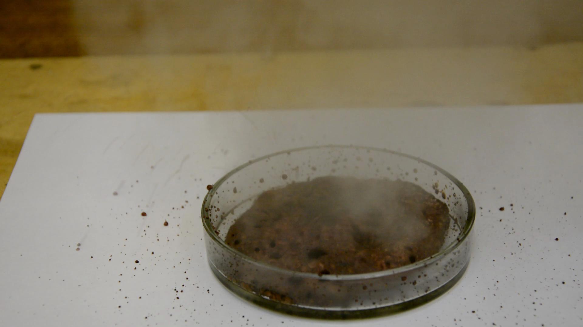 Реакция перманганата калия и щавелевой кислоты