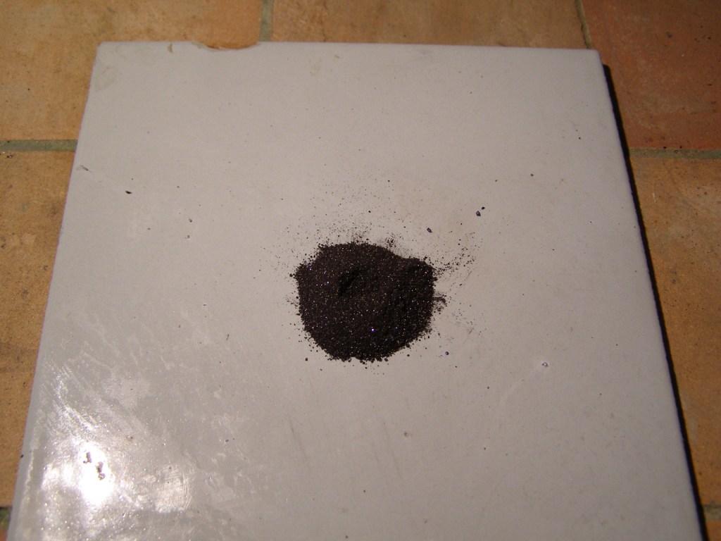 Разложение перманганата калия
