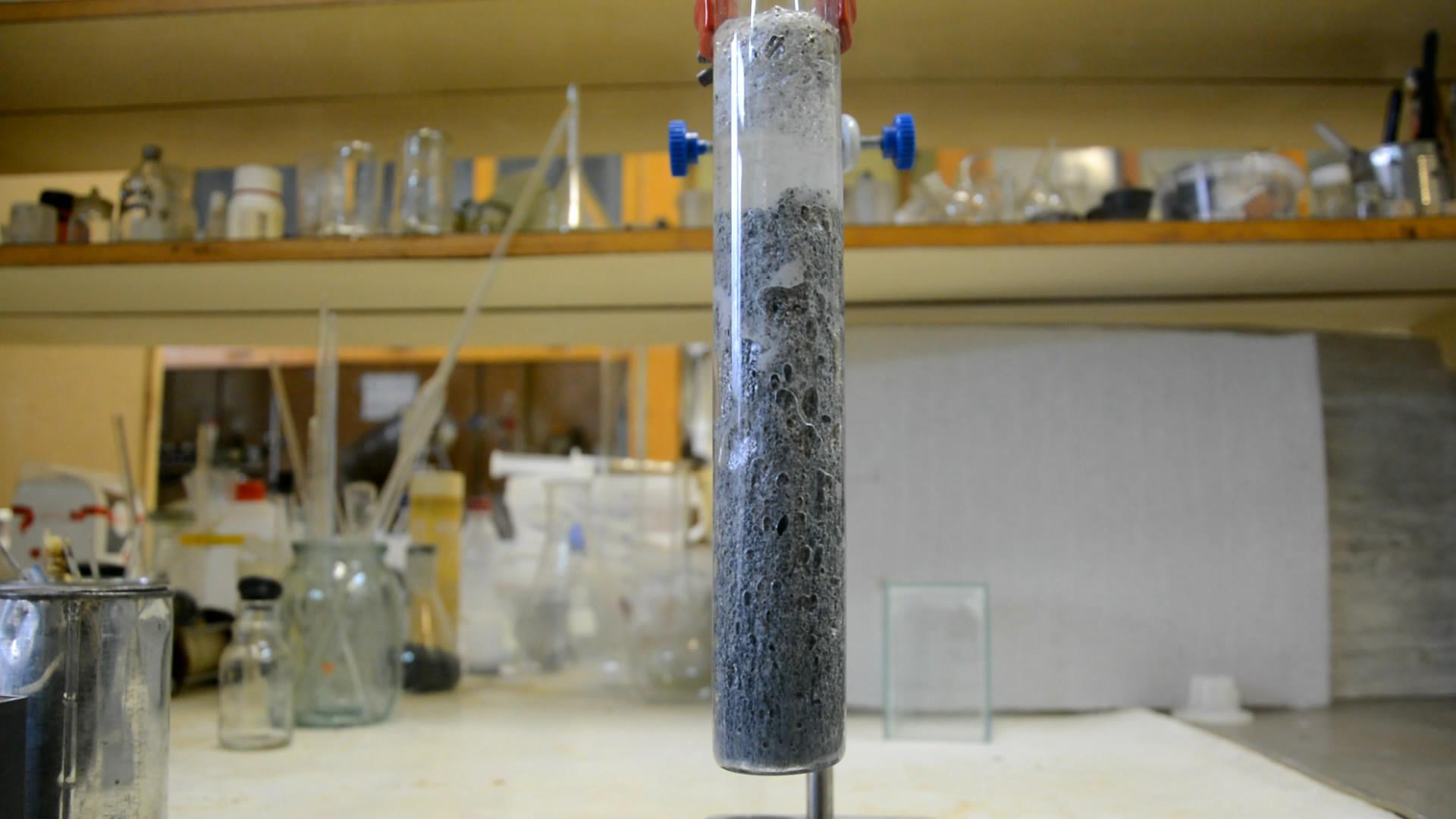 Амальгама аммония (получение из амальгамы натрия)