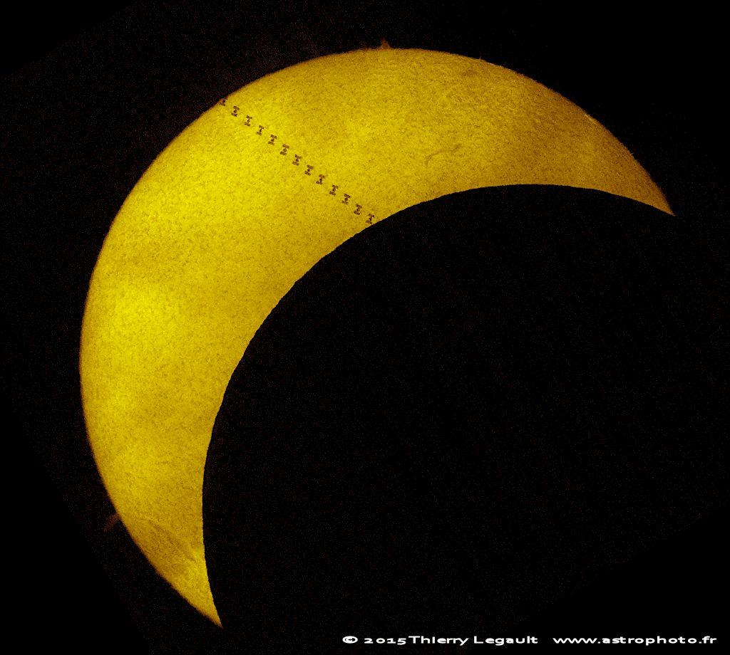 Солнечное затмение 20.03.2015, Киев
