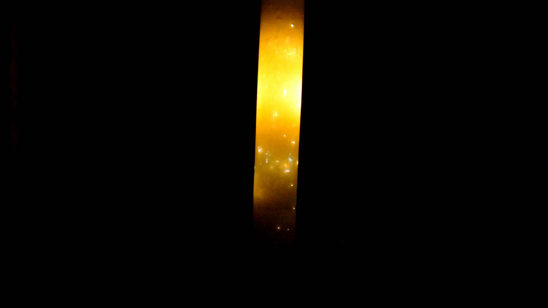Горение белого фосфора под водой (белый фосфор, хлорат калия, серная кислота)