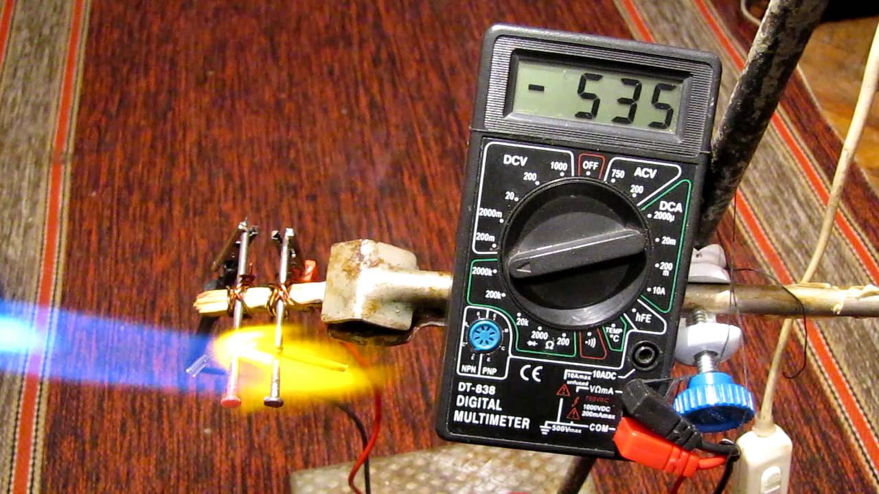 Электропроводность стекла. The electrical conductivity of glass