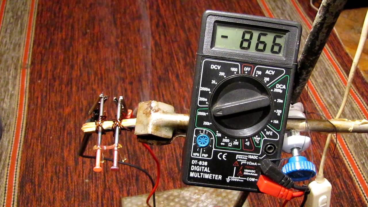 Зависимость электропроводности стекла от температуры. The temperature dependence of the electrical conductivity of glass