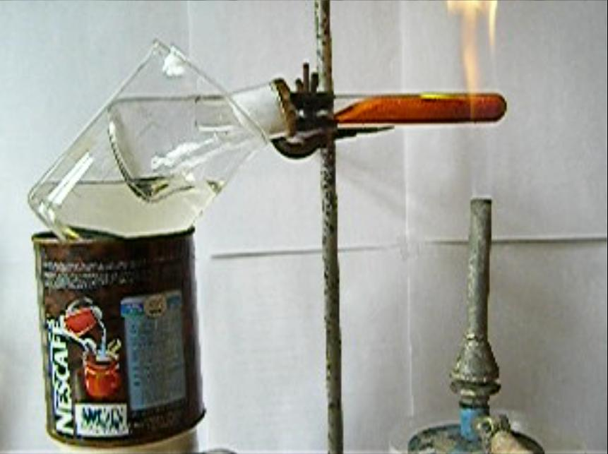 Получение йода. Laboratory preparation of iodine