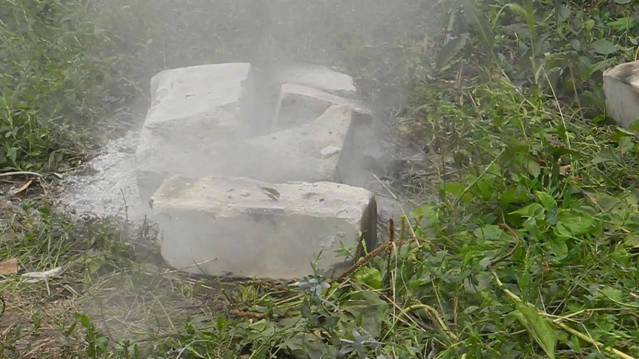 Фульминат ртути (гремучая ртуть) - взрыв. Mercury(II) fulminate explosion
