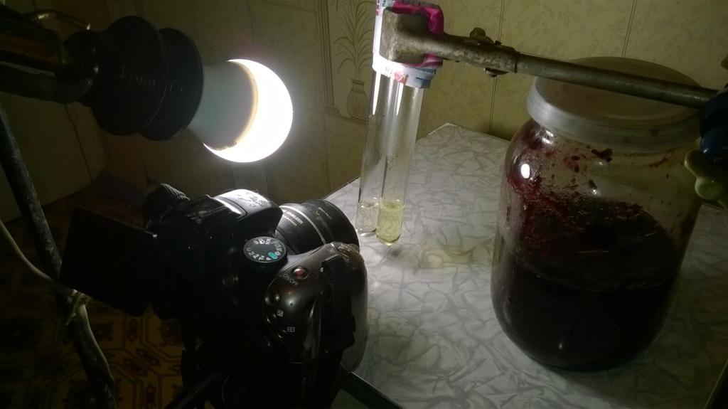 Титан, соляная кислота и пероксид водорода. Titanium, hydrochloric acid and hydrogen peroxide
