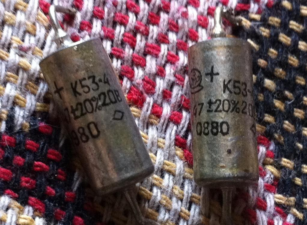 Ниобиевые электролитические конденсаторы послужили источником металлического ниобия. Niobium electrolytic capacitors are used as a source of metallic niobium