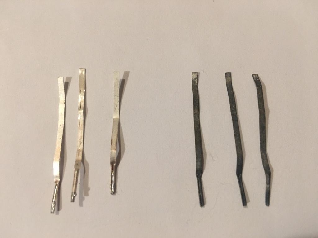 Извлечение серебра из контактов. How to recover silver from electrical contacts?