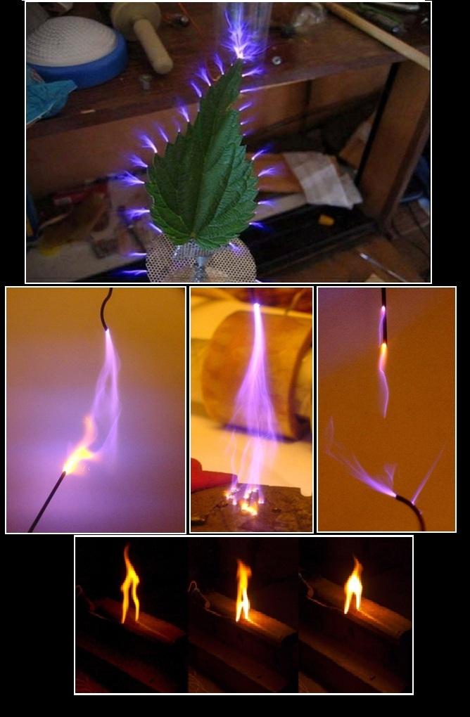 Фотографии. Высоковольтные разряды в домашних условиях Photos. High-voltage discharges at home