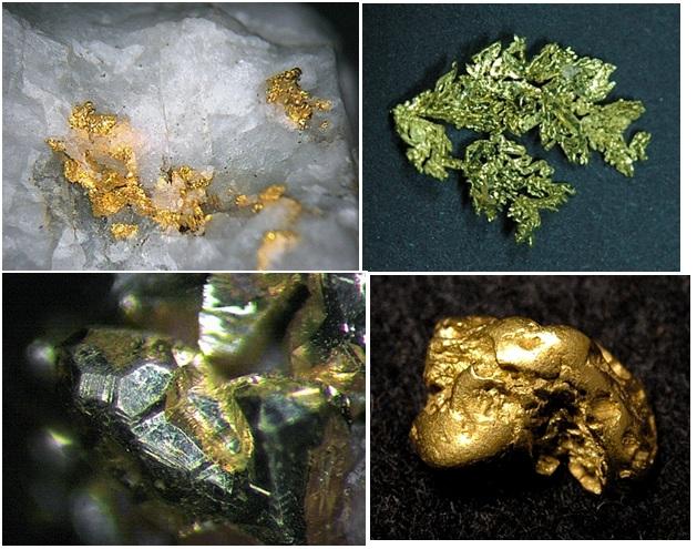 Химические фотографии. Самородные металлы. Chemical photographs. Native metals
