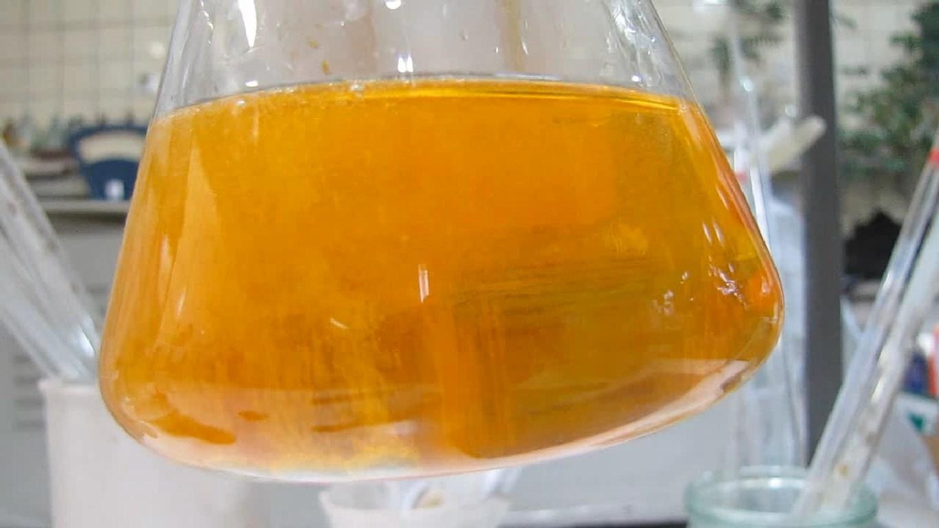 Восстановление шестивалентного хрома до двухвалентного хрома. Reduction of hexavalent chromium to divalent chromium